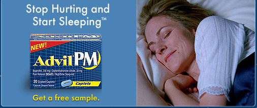 Free Sample Advil PM