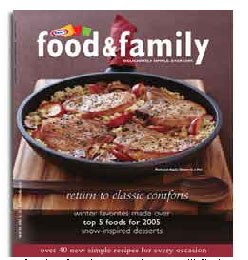 Free Subscription to Kraft Food & Family Magazine