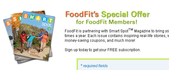 Free Food Fit magazine subscription