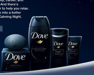 Free Dove Soap Sample