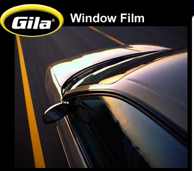 Free sample of Gila window film