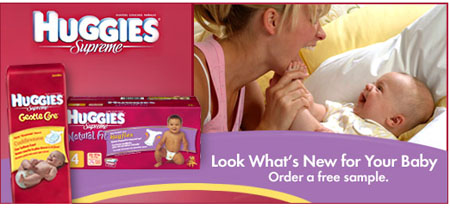 Free HUGGIES Supreme® Diapers