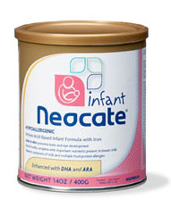 Free Sample of Neocate Infant Formula (Mail In)