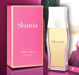 Shania Twain Fragrance free sample