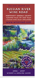 Free Russian River Wine Road Map