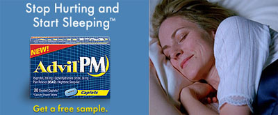Free sample of Advil®PM