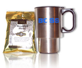 Free RiverCAD XP CD-ROM, BOSS International Coffee Mug, and Coffee Sampler