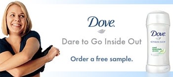 Free Dove Ultimate Clear sample