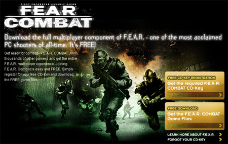 Free Game - Copy of F.E.A.R. for Download with CD Key