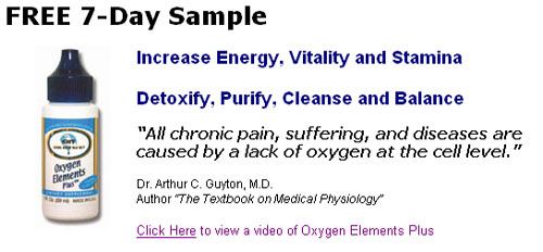 Free 7-Day Sample of Oxygen Elements Plus