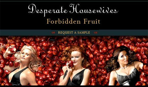 Desperate Housewives Forbidden Fruit Fragrance Sample
