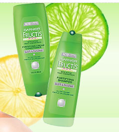 Free Sample of Garnier Fructis Shampoo