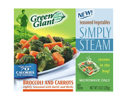 Free sample of NEW Green Giant© SIMPLY STEAM™