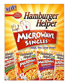 Free Sample of Hamburger Helpers Microwave Singles