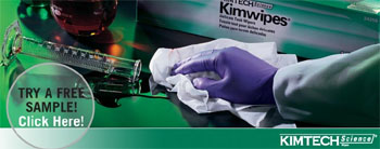 Free KimWipes Wipers or Lens Cleaning Station