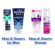 Free sample of King of Shaves