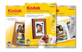 Free sample of KODAK Inkjet Photo Paper