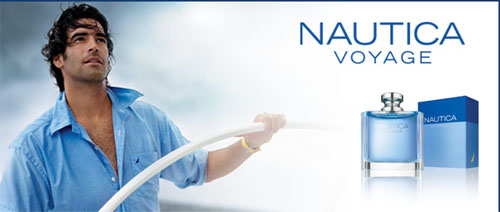Free complimentary sample of Nautica Voyage Cologne