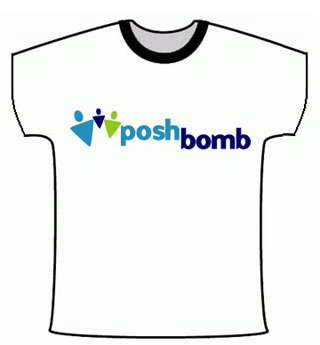 Free T-shirts from Posh Bomb