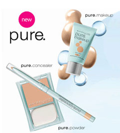 Free Sample of Maybelline Pure Makeup