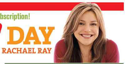 Free Cookbook by Rachael Ray