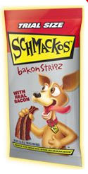 Free sample of Shmackos Dog Treat