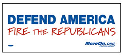 Free Bumper Stickers: Call For Change