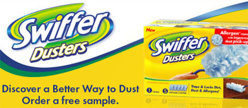 Free sample of Swiffer® Dusters™