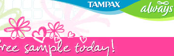 Free Tampax Tampons for beinggirl daughter