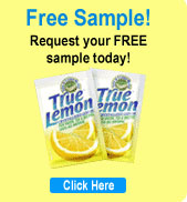 Receive free samples of True Lemon® and True Lime™