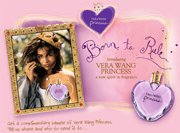 Vera Wang Princess fragrance sample