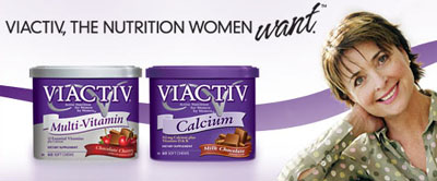 Free sample of VIACTIV® Calcium Soft Chews