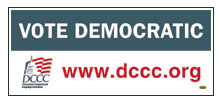 Free Vote Democratic bumper sticker