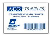 Free AER Traveler Towelette Samples