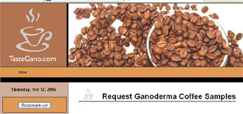 Ganoderma Coffee Samples