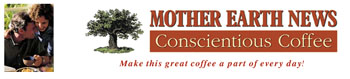 Free Sample of Mother Earth News Conscientious Coffee