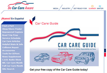 Free 56-page Car Care Guide