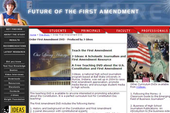 Free first amendment dvd