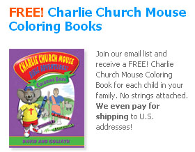 Free Charlie Church Mouse Coloring Books