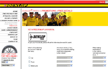 Free dunlop logo decal