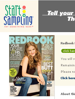 Free subscription to redbook
