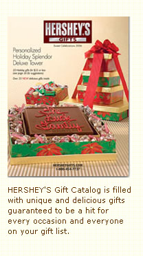 Hershey Holiday Gift Catalog