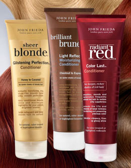 Free John Frieda samples and coupon