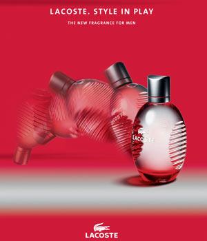 Free sample of LACOSTE RED STYLE IN PLAY Fragrance
