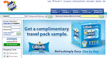 Free Cottonelle Moist Wipes Sample - Sam's club member only