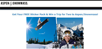 Free Olenick Sticker Pack for skiers