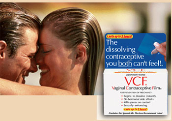 Free Sample of Vaginal Contraceptive Film