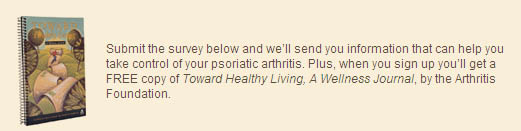 Free Copy of Toward Healthy Living, A Wellness Journal and Subscription to Arthritis Today