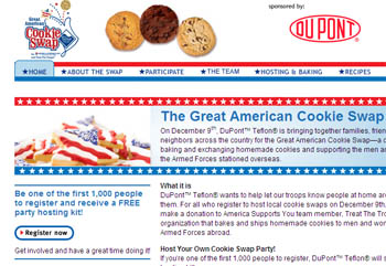 Free Great American Cookie Swap Hosting Kit - First 1000