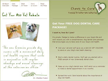 Free Dog Dental Care Package